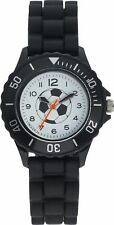 Boy's Tikkers Black Football Watch/White dial Childrens Christmas Stocking Gifts