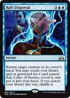 MTG x4 Ral's Dispersal Guilds of Ravnica RARE Blue Magic the Gathering NM/M