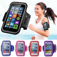 Gym Running Jogging Sports Armband Holder For Apple iPhone Various Mobile Phones