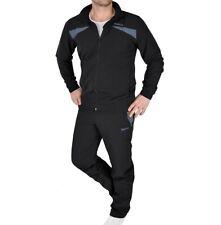 Reebok Herren Trainingsanzug Jogginganzug Sport Anzug SLIM FIT adidas schwarz