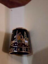 Dé à coudre de collection MOULIN DE DAUDET PROVENCE métal   B15