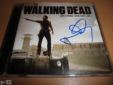 NORMAN REEDUS signed THE WALKING DEAD soundtrack CD Daryl Dixon Autograph