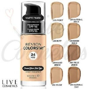 Revlon ColorStay Combination/Oily or Normal/Dry 24Hrs Foundation *Choose Type*