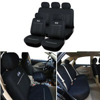 Sports Black Car Seat Cover Interior Accessories Decoration Car Seat Protector