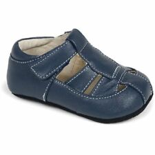 NIB See Kai Run Fisherman Sandals Shoes Patrick Navy Blue 0-6m 1 2 Unisex
