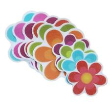 10pcs/set Anti Non Slip Mat Flower Bathtub Stickers Safety Floor Bathroom Shower