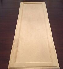"""Natural Birch Unfinished Flush Panel Cabinet Door (14.5"""" X 40"""") Stain-Grade"""