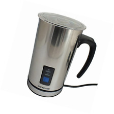 Voche Cordless Stainless Steel Electric Milk Frother and Warmer Coffee Latte