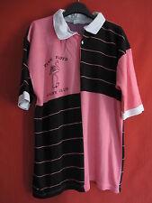 Maillot rugby Club PINK FLOYD rose et noir Manche Courte Vintage - L / XL