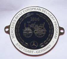 EUROPEEND DELIVERY PROGRAM STUGGART CAR GRILL BADGE EMBLEM MG JAGUAR TRIUMPH POR