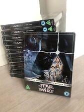 Star Wars Episode IV A New Hope 4K Ultra HD Steelbook 3 Disc Edition Blu Ray