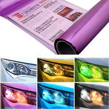 Purple Car Light Films Tint Sticker Head Tail Covers Vinyl Wrap Exterior Styling