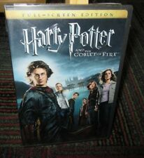 HARRY POTTER AND THE GOBLET OF FIRE DVD MOVIE, TRIWIZARD TOURNEY, FS EDITION