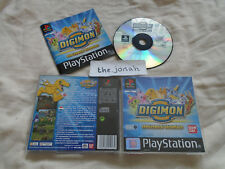 Digimon World PS1 (COMPLETE) Sony PlayStation black label VERY RARE