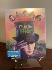 Charlie and the Chocolate Factory Steelbook (Blu-ray, Imported Japan) Rare!