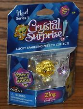 Cra-Z-Art Crystal Surprise Sparkling Pet ZING Series 1 Lucky Charm 2015 NEW