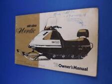 Ski-Doo Nordic 1973 Owners Manual Snowmobile Maintenance Winter