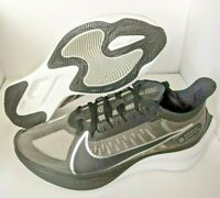 Womens Nike Zoom Gravity Running Shoes Size 8.5 Black Silver BQ3203-002