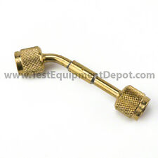 "Yellow Jacket 69071 Brass Connector 1/4"" F Flare x 1/4"" F Flare"