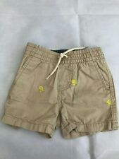 New GAP Baby Easter Baby Shorts Sand Khaki SIZE 6-12 Months