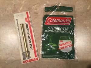 Coleman Lantern Generator 200A5891 And 4 Pack Of #21 Mantles
