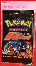 Pokemon TEAM ROCKET 1st Edition Booster Pack Sealed !!!! Unweighed !!!!!