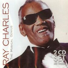 Ray Charles - The Musical Genius - 40 Tracks (2CD 2008) NEW/SEALED