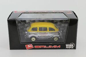 BRUMM DIE CAST 1/43 FIAT 600 MULTIPLA 1956 25a BORSA SCAMBIO VERONA S97/21