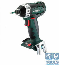 "Metabo 18V Cordless Lithium Ion 1/4"" Hex Impact Driver SSD 18 LT  - TOOL ONLY"