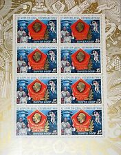 RUSSIA SOWJETUNION 1985 Klb 5496 MS 5355a Gagarin Cosmonauts Training Center MNH