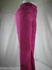 Women's J. G. Hook Leather Pants Pink Size 6 NWT