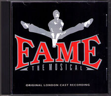 FAME The Musical Jacques Levy Steve Margoshes CD Orig. London Cast Loraine Velez