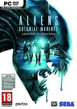 ALIENS COLONIAL MARINES LIMITED EDITION for PC XP/VISTA/7 SEALED NEW