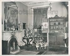 1962 Back Parlor Interior of House at 82 State Street Brooklyn NYC Press Photo
