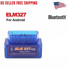 Mini ELM327 V2.1 OBD2 OBDII Bluetooth Adapter Auto Scanner TORQUE ANDROID US