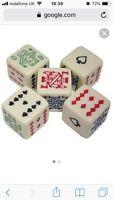 poker dice set