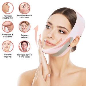 Gesicht Abnehmen V-Line Lift Up Gurtband Doppelkinn Reducer Bandagen Mask