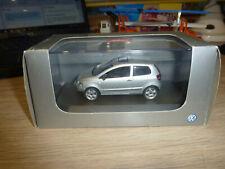 SCHUCO. VW Fox. (In VW Dealer box). Silver. 1:43. 819901107 MINT IN CASE/OUTER