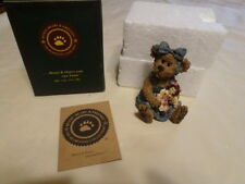 "Boyds Bears & Friends "" Sally Quignapple With Annie "" Lnib 1St Edition"