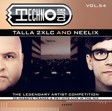 CD Techno Club Vol. 54 Mixed by Talla 2xlc & Neelix 2cds