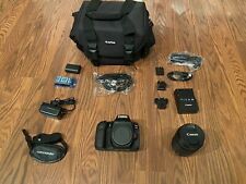 Canon EOS 90D EF-S18-135 IS USM Lens Kit -Mint Condition -Full Set
