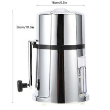 Manual Ice Crusher Commercial Household Portable Shaved Ice Crusher With Stai By