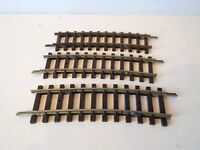 HORNBY DUBLO OO 2 RAIL X 3 CURVED ISOLATING RAILS LARGE RADIUS UNBOXED (K91)