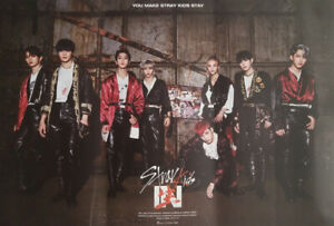 STRAY KIDS [IN LIFE] OFFICIAL ROLLED POSTER -SHIP IN TUBE CASE FROM AUS+TRACKING