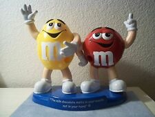 M&M Double Character Candy Dispenser, Excellent Condition FREE PRIORITY SHIPPING