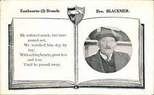 Eastbourne Workers' Union. Brother Blackmer. Socialism / Trade Union Interest.