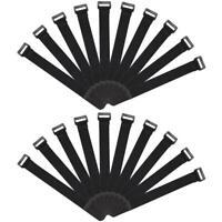 8x Stretchy Strap Fastener Tie Cable Rod Reusable Suspender Belt Fishing Holder