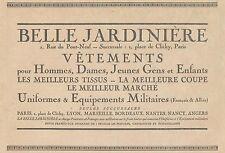 Y5223 Belle Jardinière - Vetements pour Dames - Pubblicità d'epoca - 1918 old ad