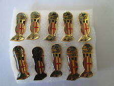 j9 lotto 10 pins lot MILAN FC club football calcio pins broches spille cup