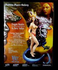 Yamato Boris Vallejo Julie Bell Fantasy Dragon Maiden Statue New From 2013